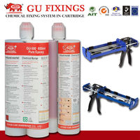 High bonding side by side resin with ab epoxy cartridge