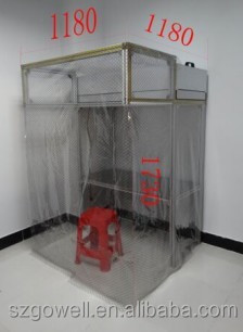 For LCD Refurbishing Dust Free portable Clean Room for repair Mobile Phone LCD screen anti-static dust free room
