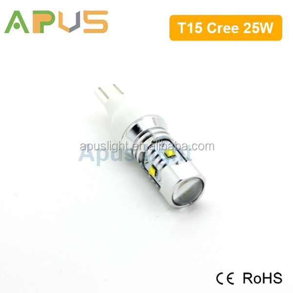 Original Cre.e chips replace halogen bulb T15 car led lights