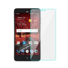 Anti-scratch Peremium 9 Hardness Mobile Tempered Glass Screen Protector For ZTE Grand X4