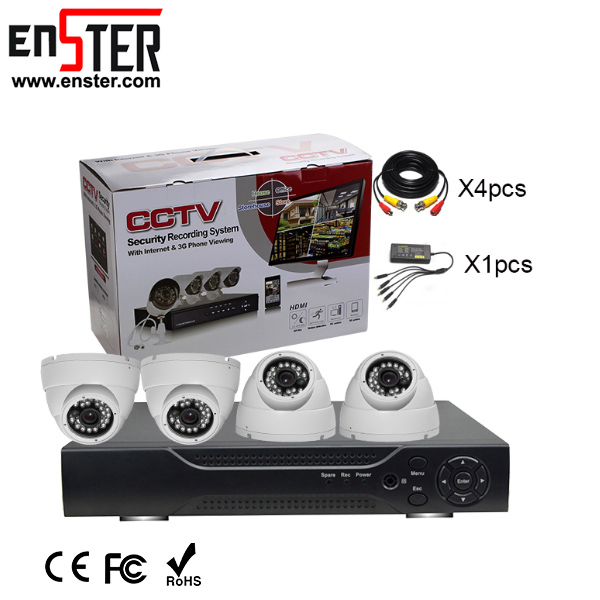 Enster Pros Pro Around View Monitor 1080P CCTV Smart Home Cheap AHD System Infrared Camera Kit