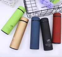 Wholesale cheap fashion pure color insulated sports bottle