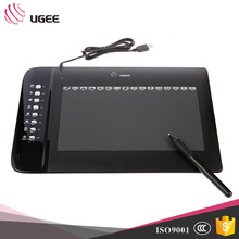 Ugee M1000L Graphics Drawing Tablet With 8 Hotkeys,16 Expesskeys