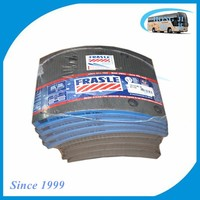 Top quality genuine 19579 58000 frasle brake lining bus for Man