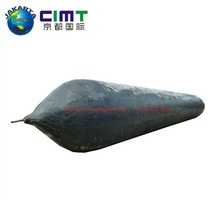 steering wheel rubber launching airbag Concrete Float Pontoon for marine