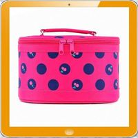 High quality fashion design polyester makeup vanity case