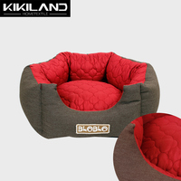 Pet heating and cooling bun cat bed