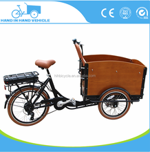 From China factory adult tricycle 6 speeds cargo bike 26 inches three wheel cargo tricycle