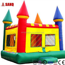 Outdoor and indoor amusemnet park kdis inflatable games, safety inflatable bouncers for children fun