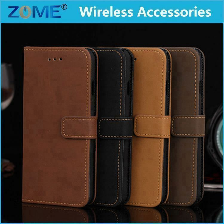 Alibaba China New Design Dual-Use Flip PU Leather Fold Wallet Pouch Case Premium Leather Wallet Flip Case For iPhone6 4.7