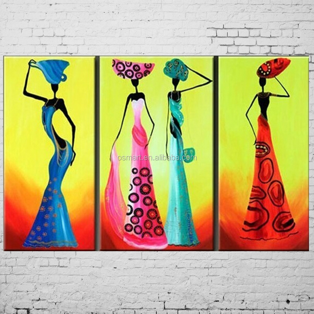 New Hand Painted Paintings Hot Animal Pictures 3D Zebra Wall Picture Abstract Red Oil Painting