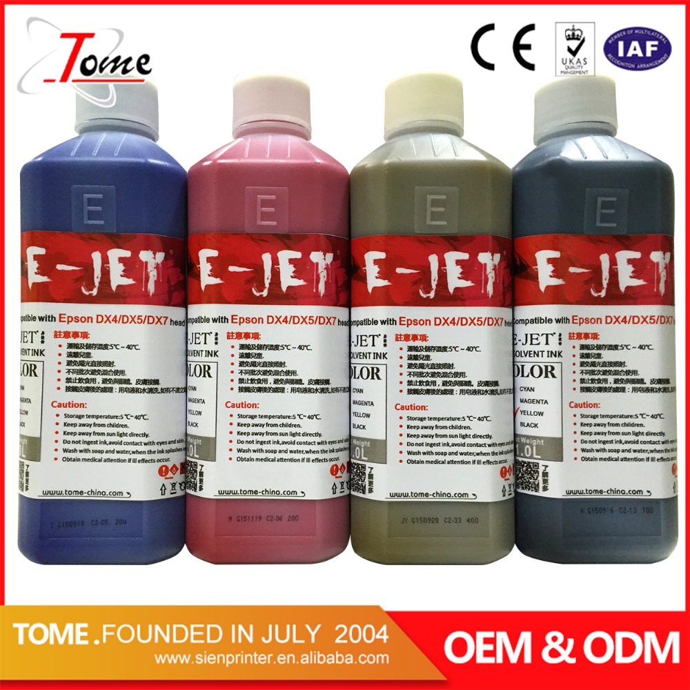 Good original dx5/dx7 printing ink supplier ink eco solvent for printing machine in guangzhou China