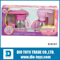pretend play plastic coffee cup set