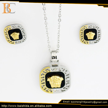 stainless steel necklace chain pendant necklace meaning metaza pendants in China