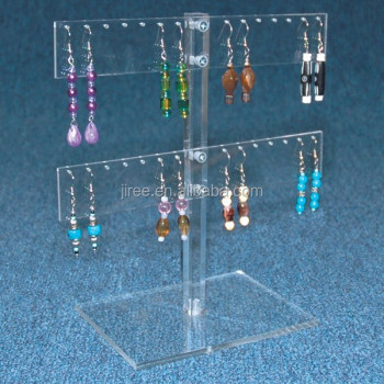 Acrylic Hanging Jewelry holder Organizer