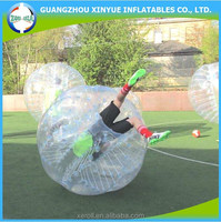 PVC quality prevalent football inflatable body zorb ball