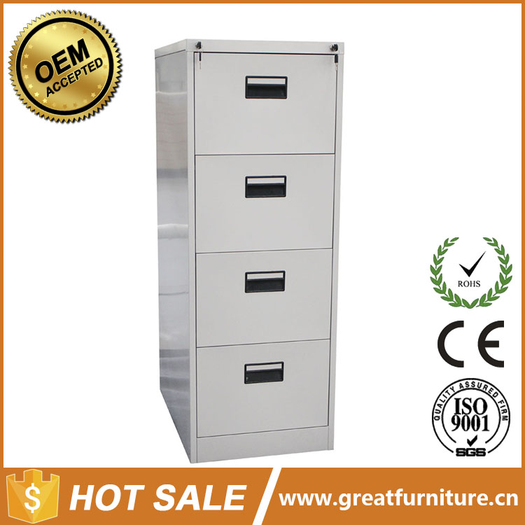 Factory Price Commercial Industrial 4 Drawer Double Lock Metal Filing Orocan Cabinet