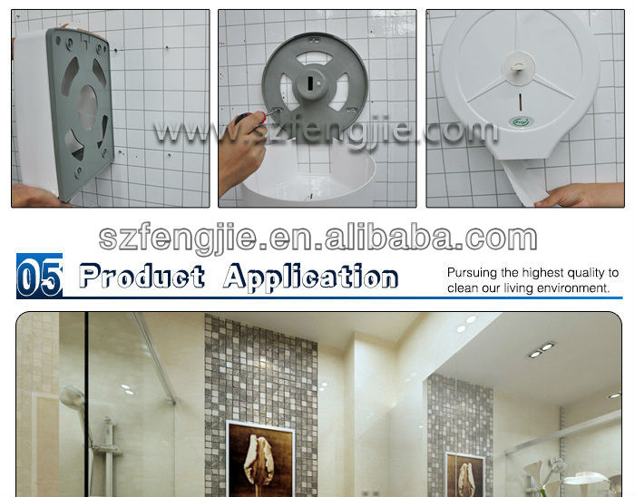 Plastic Wall Mounted Kitchen Paper Holder