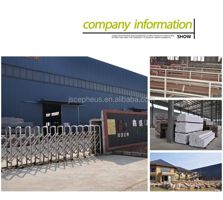 Modern building materials exterior wood plastic composite for Modern exterior building materials