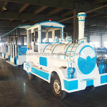 Profitable for Investment ! Outdoor Amusement Equipment Electric Tourist Zoo Trains for sale