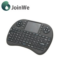 Joinwe New Style Wholesale Rii I8 2.4g Mini Wireless Backlit Game Keyboard With Touchpad For Android tv box