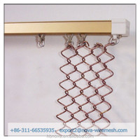 Chain link fence end rail clamp / chain link fence end post