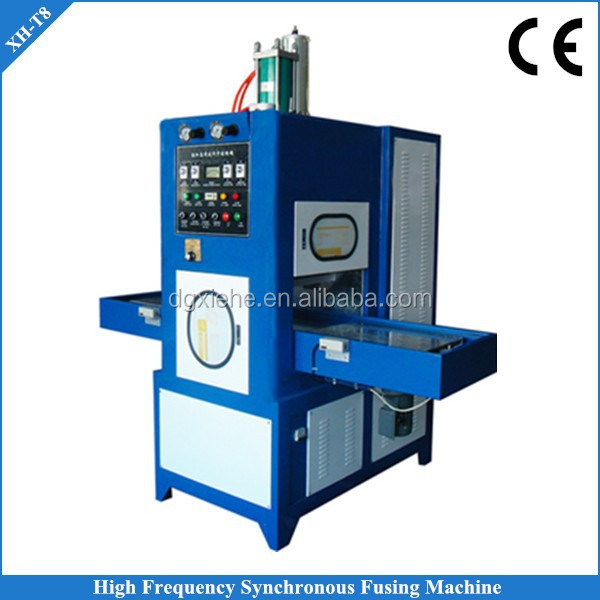 PU Leather Welding and Cutting Machine High Frequecy 8 KW