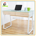 Hot new toughened glass computer desk, personalized office, home computer desk