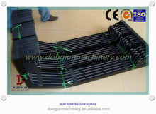 CNC machine bellow Right angle Flexible accordion machine bellows made in DONGJUN