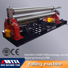W11-12*2000 Hydraulic aluminum sheet plate bending convenient maintenance rolling machine