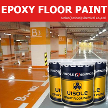Epoxy Parking lot concrete substrate floor coating paint