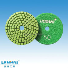 Granite polishing diamond resin pad