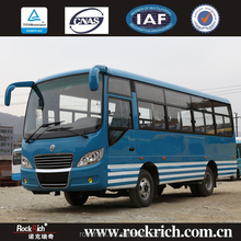 Diesel fuel Dongfeng 24 seater euro-5 cng city bus for sale