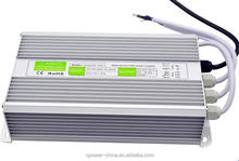 220v waterproof ac dc 12v 24v transformer led power supply driver led lighting power supply 200w 250w 150w 100w