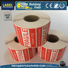 "Handle with care Fragile Shipping Labels,small order accepted 2""x3"",500pcs/roll"