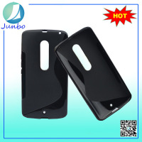 New Arrival Promotion S Line Thin TPU Case for moto x3