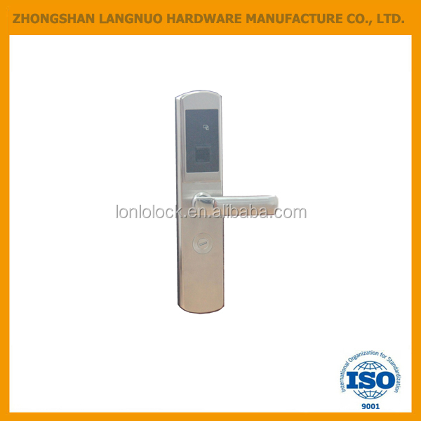 High quality digital fingerprint door lock with touch screen keypad