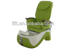 Green nail salon beauty pedicure chair