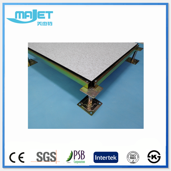Anti-static Raised Access Floor HPL/PVC vinyl finish floor
