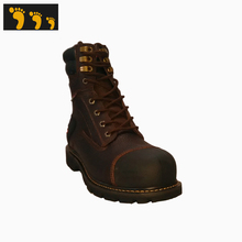 anti electric shock leather steel toe safety shoes price
