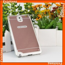 Electronic products accessories plating tpu mobile phone cover for samsung galaxy note 3