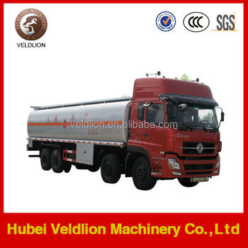 Large Capacity Oil Tanker Truck for oil transportation (Volume: 30000L, 8x4 driving mode)