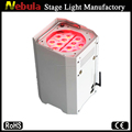 Tri-color Wireless lighting color changing battery powered led stage lighting