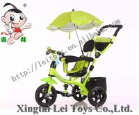 tricycle bike,wholesale toy push/foot power with fence,tricycle bike sun-shade/umbrella&breathable back;baby trike EVA/AIR tyres