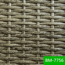 No Color Fraded Outdoor Furniture Plastic Rattan Plate Holders Poly Wicker BM-7756