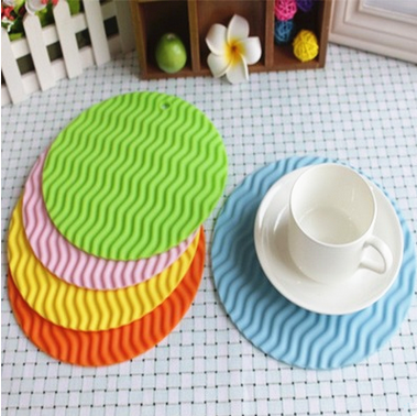 Custom placemat/silicone dining table mat and table plate mat