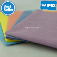 2016 CE certificated best-seller super soft 50gsm microfiber cleaning wipes