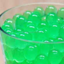 one pound bag of green water beads pearls wedding tower vase filler