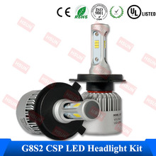 2017 automobiles & motorcycles auto car G5 8S led headlights bulb kit h1 h3 h4 h11 h13 9007 9004 9005 9006 h7 car led