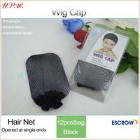 high elastic great density Stretchable Elastic human wig cap